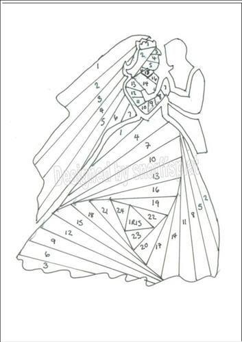 25+ best ideas about Iris Folding Templates on Pinterest