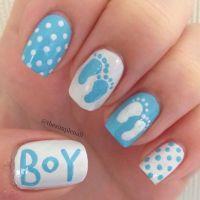 25+ Best Ideas about Baby Nail Art on Pinterest