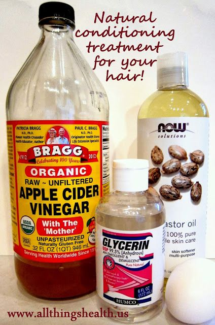 Natural Conditioning Treatment For Hair ACV Apple Cider