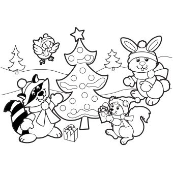 1000+ images about Coloring & Activity Pages: Christmas on