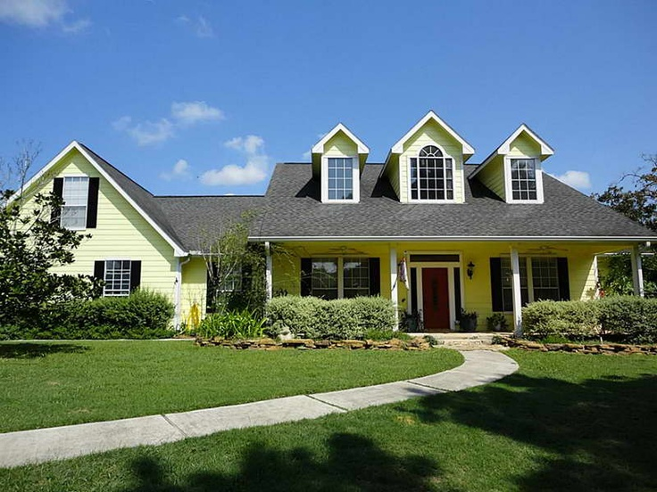 Ranch Style Home Plans With Red Door