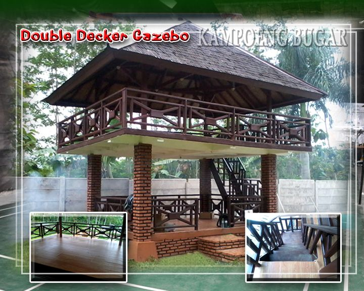 old world style living room furniture rattan philippines two story gazebo, when one is just not enough ...