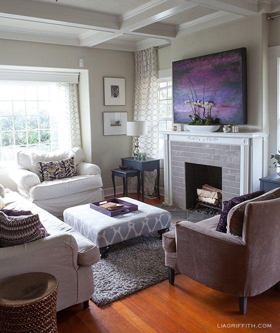 17 Best ideas about Plum Living Rooms on Pinterest