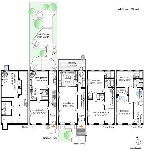 17 Best images about Townhouse Floor Plans on Pinterest