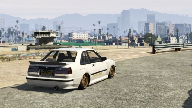The Karin Futo With A Bolt On Retro Racer Kit Honours