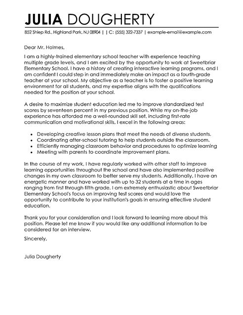 25 best ideas about Cover letter teacher on Pinterest  Application letter for teacher Teacher