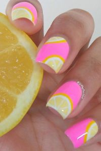 25+ best ideas about Summer nail art on Pinterest