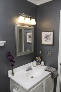 25+ Best Ideas about Dark Gray Bathroom on Pinterest ...