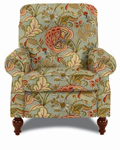 Spindale High Leg Recliner by LaZBoy Fabric Pattern