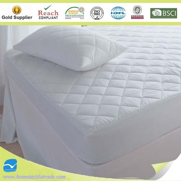 Waterproof Cot Bed Mattress 280tc Cotton Fabric Filled Synthetic Cer Fiber Silicone