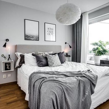 What A Stunning Bedroom Beautifully Styled By Stylingbolaget Henriknero