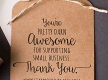 25+ best ideas about Business thank you cards on Pinterest ...