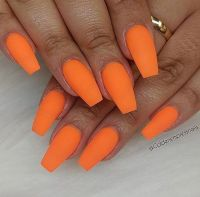 25+ best ideas about Orange nail art on Pinterest ...