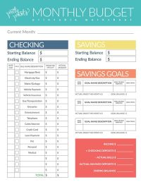 Best 20+ Budgeting worksheets ideas on Pinterest | Budget ...