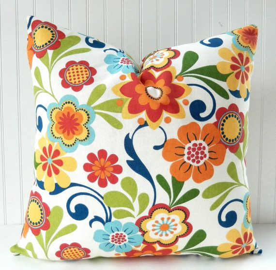 25 best ideas about Floral pillows on Pinterest