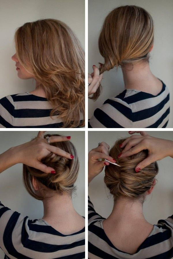 25 Best Ideas About Easy French Twist On Pinterest French Twist