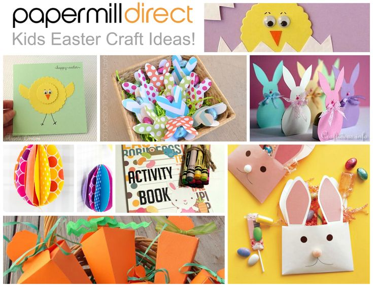 17 Best Images About Kids Easter Crafts Paper And Card