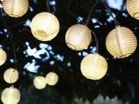 solar-powered light chains | Garden ideas | Pinterest ...
