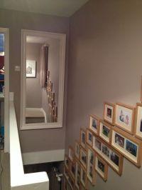 Dulux soft truffle walls. Oversized mirror from ikea ...