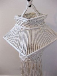 17 Best images about lamp shades macrame on Pinterest ...