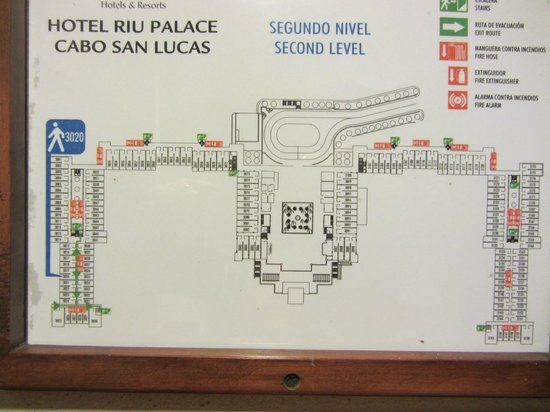 RIU Palace Cabo San LucasGeneral Floor Plan Of The Resort