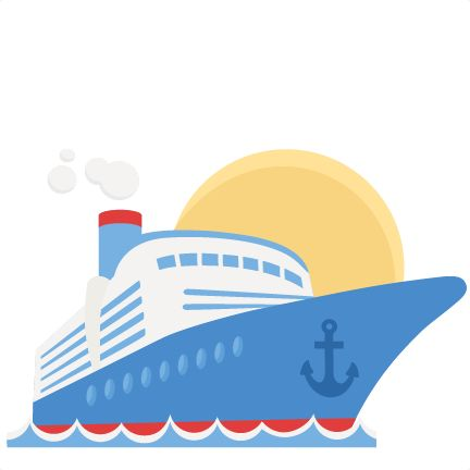 cruise ship svg scrapbook cut file