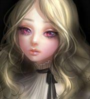 tags anime portrait slit pupils