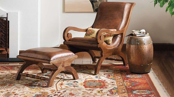office chairs for guests arhaus capri dining augusto chair and ottoman | traditional, the good books