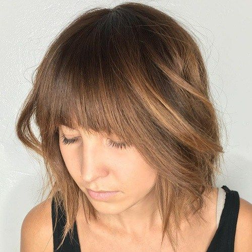 1000 Ideas About Round Face Bob On Pinterest Bobs For