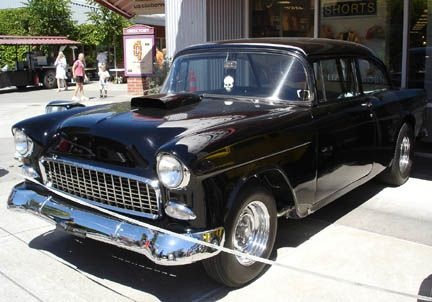 The 55 Chevy From American Graffitti Harrison Ford S Car
