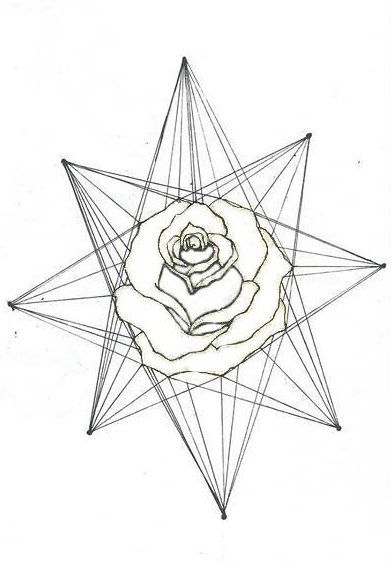 Rose Triangle Tattoo Meaning