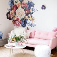 17 Best ideas about Flower Wall Decals on Pinterest