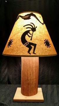 Rustic Kokopelli Lamp Beautiful Hawaiian by ...
