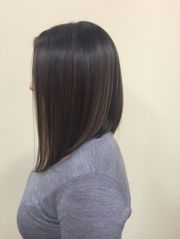 line with subtle balyage highlights