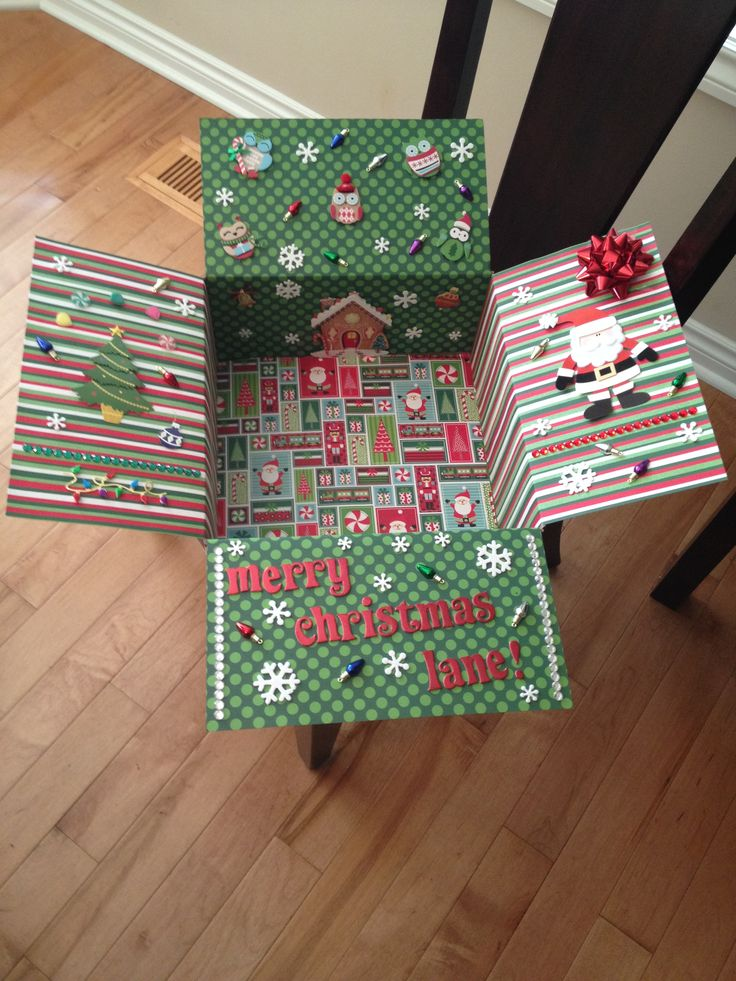 Adorable military deployment christmas care package diy