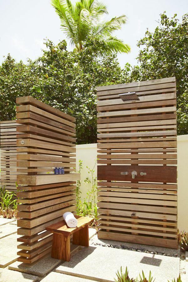 Dusche Garten Solar Sichtschutz | Möbelideen
