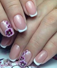 Best 25+ French nail art ideas on Pinterest | Wedding nail ...