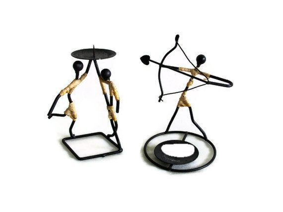 17 Best images about Z Metal Wire Figurine Candle Holders