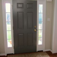 Dulux Grey Colour Schemes For Living Rooms Outside Benjamin Moore Chelsea Gray | Inside Of Front Door Would ...