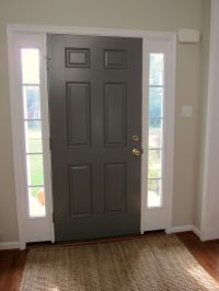 benjamin moore chelsea gray | Inside of Front Door would ...