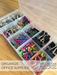 17 beste ideen over Kantoorbenodigdheden Organisatie op ...