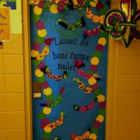 Mardi Gras door | Door ideas | Pinterest | Mardi gras and ...
