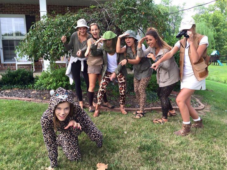safari costume diy