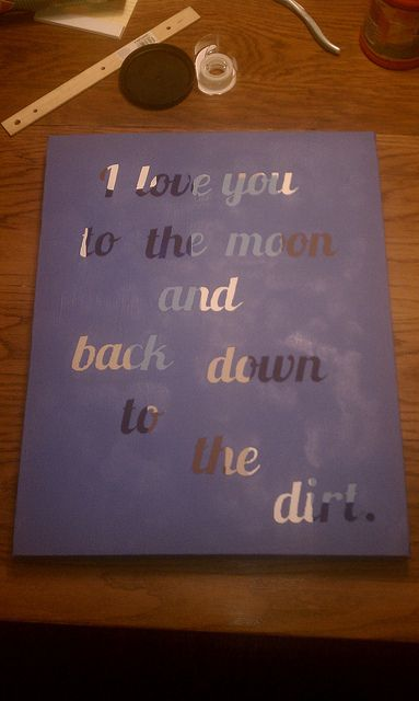 The painting I finished for my boyfriend  My completed pins  Pinterest  Sweet love My