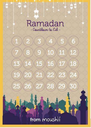 Ramadan Calendar And Blog On Pinterest