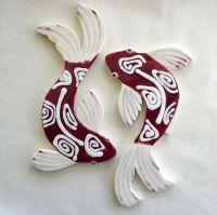 42 best Koi & Handmade Koi Ceramic Mosaic Tiles images on ...