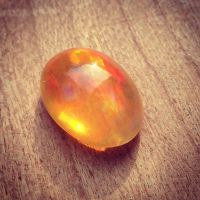 Mexican Fire Opal. Im obsessed with these magical stones ...