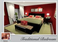 Master Bedroom Decorating Ideas green | Traditional ...