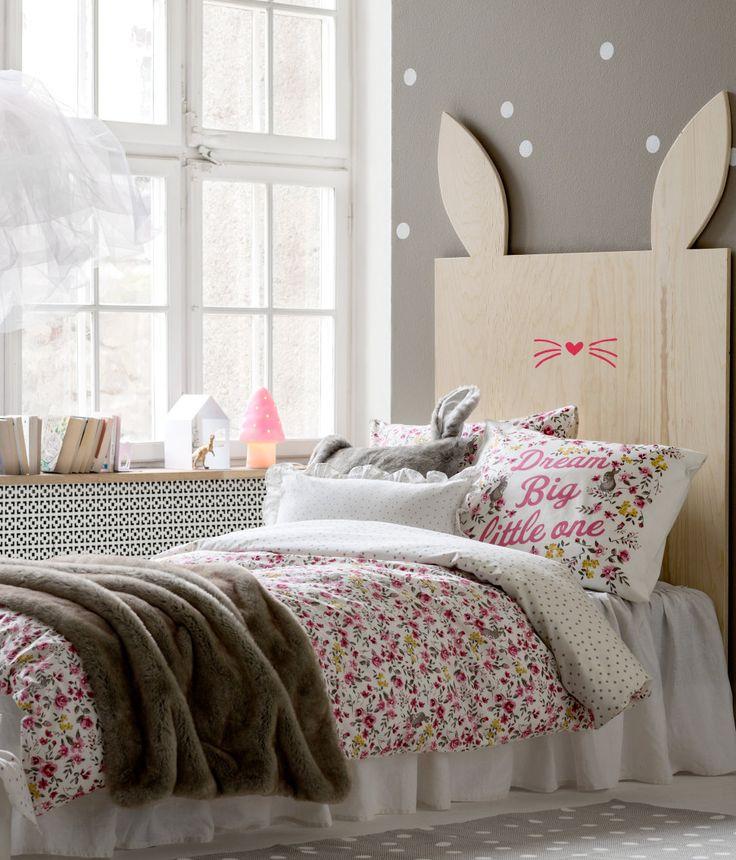 Rabbit Headboard HampM DE Bedroom For Kids Pinterest