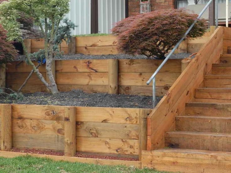 25+ best ideas about Landscaping Retaining Walls on